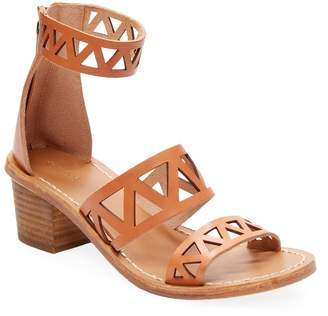 Soludos Women's Cut-Out Leather Strap Sandal