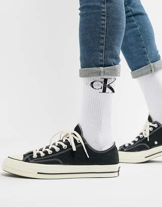 Calvin Klein Jeans Socks with Bold Logo