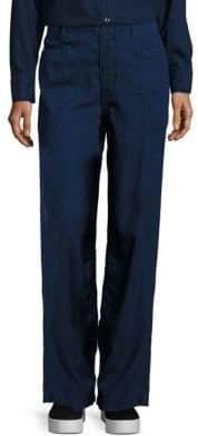 Vince Wide-Leg Utility Jeans