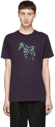 Paul Smith Purple Zebra Organic T-Shirt