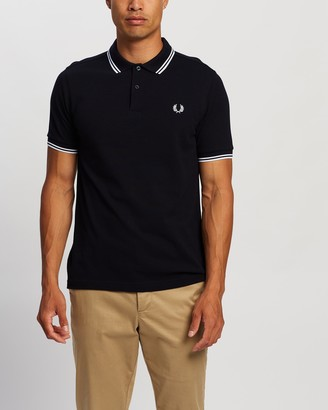 Fred Perry Slim Fit Twin Tip Polo Shirt