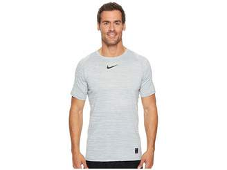 Nike Pro Heathered Short Sleeve Training Top