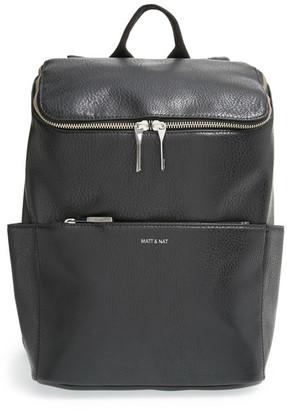 Matt & Nat Brave Vegan Leather Backpack $140 thestylecure.com