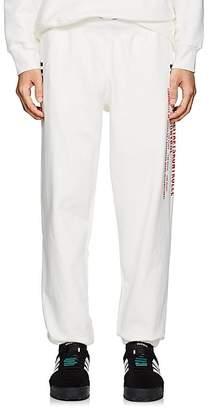 adidas by Alexander Wang Men's Logo Cotton Fleece Jogger Pants