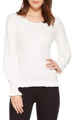Parker Henri Blouson Sleeve Sweater