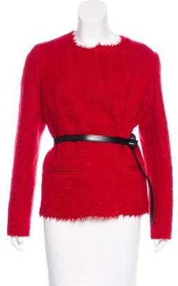 Isabel Marant Tweed Belted Jacket