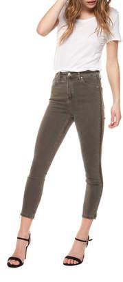 Dex Exposed Side Zip Super Skinny Jean