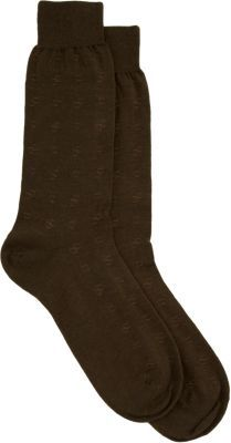 Barneys New York Square Pattern Socks