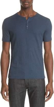 John Varvatos Rib Henley T-Shirt