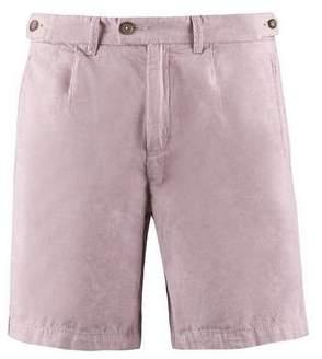 Burton Mens Dusty Pink Linen Shorts