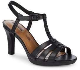 Clarks Adriel Tevis Embellished Ankle-Strap Sandals