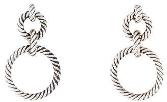 David Yurman Cable Classics Doorknocker Earrings