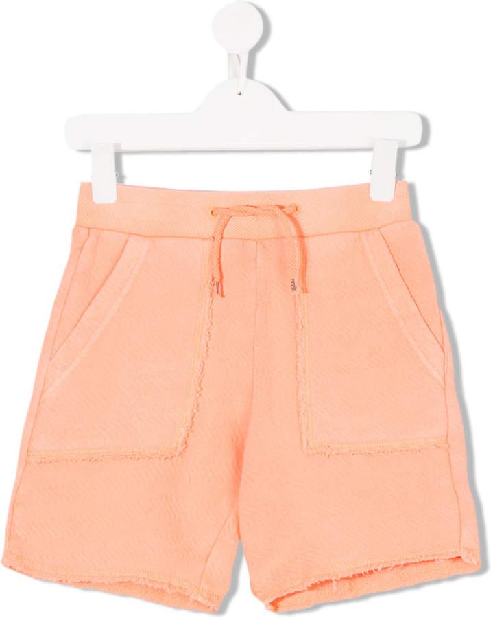 Zadig & Voltaire Kids drawstring waist shorts