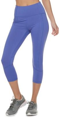 Fila Sport Women's SPORT Side Pocket High-Waisted Capri Leggings