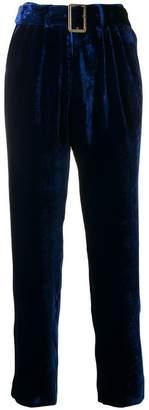 Forte Forte belted velvet trousers