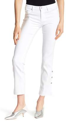 Tractr Side Button Ankle Jeans