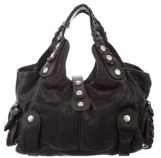 0b159e4b3 Leather Studded Handbag - ShopStyle Australia