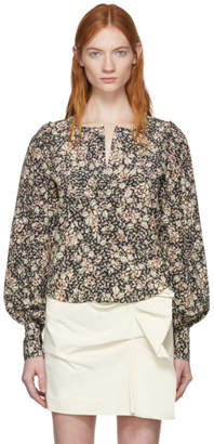 Isabel Marant Black Berny Blouse