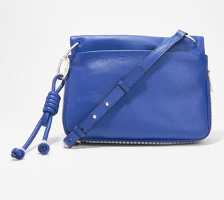 Vince Camuto Leather Crossbody - Lake