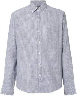 Michael Kors striped print shirt