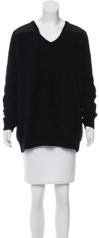 J BrandJ Brand Angora V-Neck Sweater
