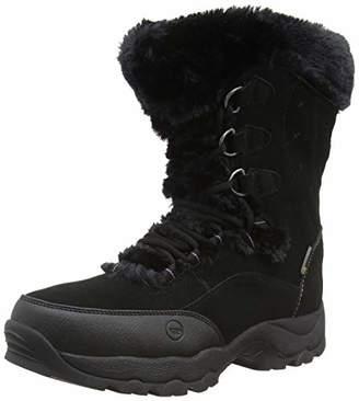 Hi-Tec Women's ST Moritz II 200 Waterproof High Rise Hiking Boots, (Black 21), (36 EU)