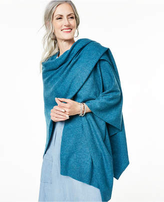 Charter Club Solid Cashmere Wrap