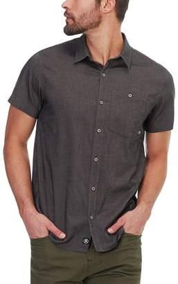 Backcountry Stretch Chambray Short-Sleeve Shirt - Men's