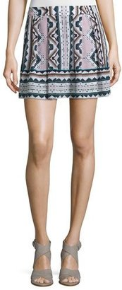 Nanette Lepore Printed Skort W/Pleats, Multi Colors $278 thestylecure.com