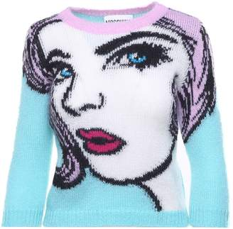 Moschino Mohair And Wool-blend Sweater
