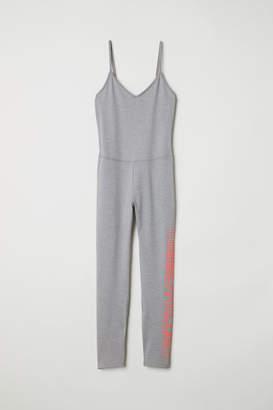H&M Yoga Jumpsuit - Gray