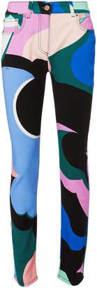Emilio Pucci Printed Skinny Pants