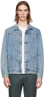 Levi's Levis Made and Crafted Blue Type II Worn Jacket