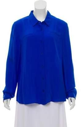 Rebecca Minkoff Silk Long Sleeve Top