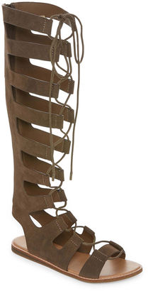 Bamboo Stardust 14m Womens Gladiator Sandals $50 thestylecure.com
