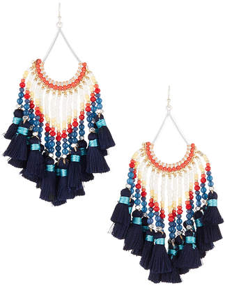 Nakamol Multi-Tassel Dangle Earrings