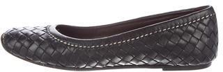 Bottega VenetaBottega Veneta Intrecciato Leather Flats