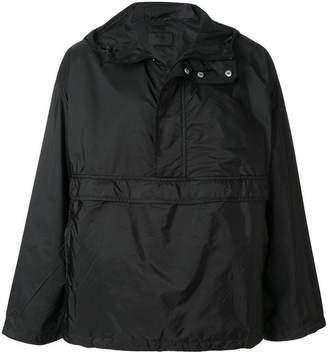 Prada hooded pullover water-resistant jacket