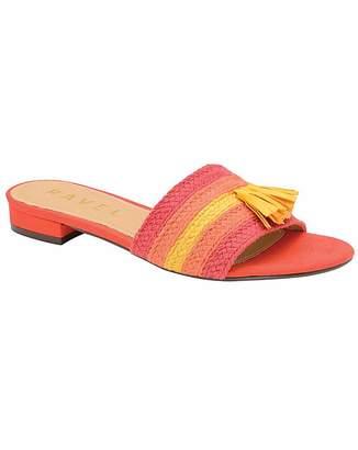 9a2d164e4357 Ravel Dania Flat Textile Mule Sandals