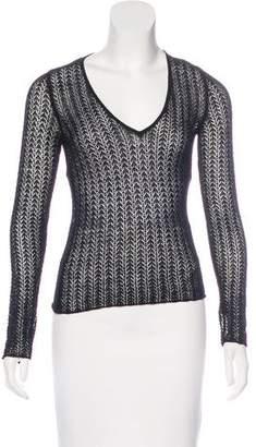 Dolce & Gabbana Wool V-Neck Sweater