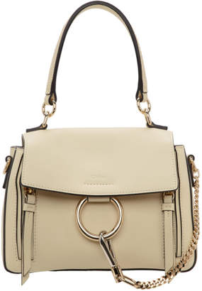 Chloé Off-White Mini Faye Day Bag