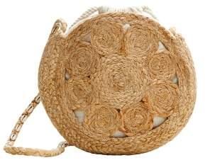 MANGO Round jute bag
