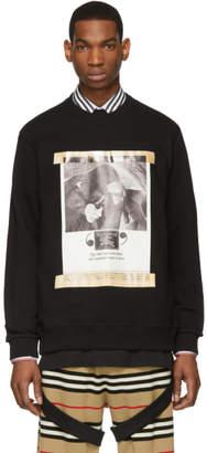 Burberry Black Archive Campaign Sweatshirt