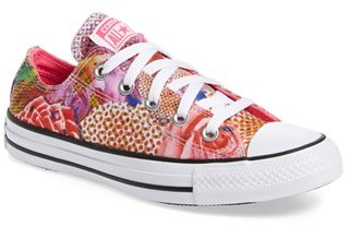 Women's Converse Chuck Taylor All Star 'Digital Floral Ox' Low Top Sneaker $54.95 thestylecure.com