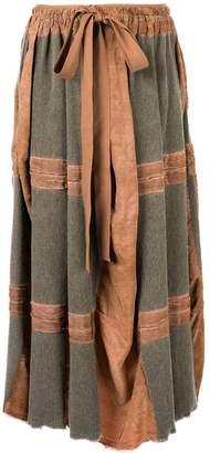 UMA WANG tie waist skirt
