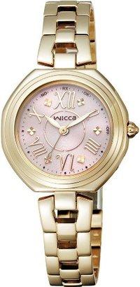 Wicca (ウィッカ) - [シチズン]CITIZEN 腕時計 wicca ウィッカ ソーラーテック 電波時計 KL4-028-91 レディース