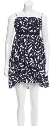 Hache Abstract Printed Michele Dress w/ Tags