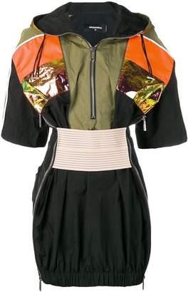 DSQUARED2 sport technical mini dress