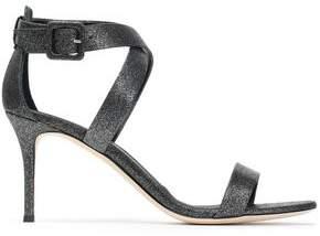 Giuseppe Zanotti Glittered Leather Sandals