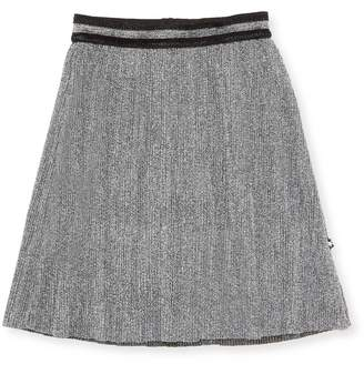 Molo Textured Stripe Skirt